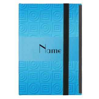 O azul-céu conhecido personalizado esquadra capas iPad mini