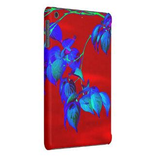 O azul-céu vermelho sae iPad do mini caso Capa Para iPad Mini Retina