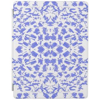 O azul dá forma ao cobrir esperto do iPad Capa Smart Para iPad