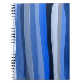 O azul protege o caderno