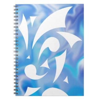O azul sonha o caderno