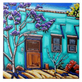 O azulejo do bairro de Tucson do verde da cerceta