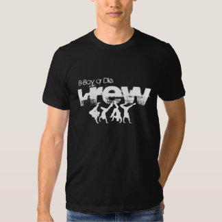 O B-Menino ou morre Krew Camisetas