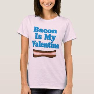 O bacon é minha camisa dos namorados