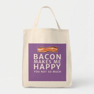 O bacon faz-me feliz - você não tanto bolsa tote
