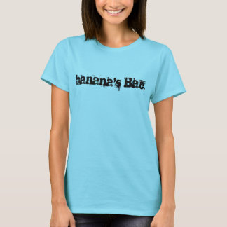 o Bae da banana. A camisa das mulheres
