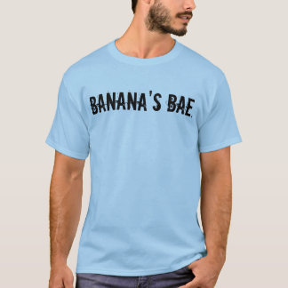 O Bae da banana. O t-shirt dos homens Camiseta