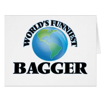 O Bagger o mais engraçado do mundo Cartões