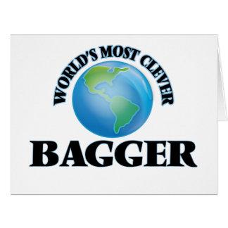 O Bagger o mais inteligente do mundo Cartões