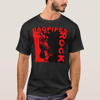 O Bagpipe balança a camiseta