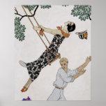 O balanço, 1920 poster