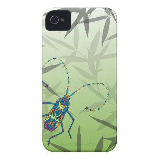 O bambu do inseto sae do teste padrão original capinhas iPhone 4