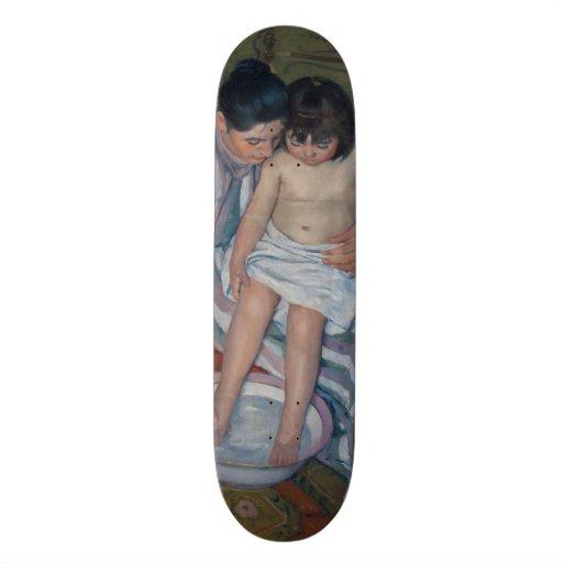O banho da criança por Mary Cassatt