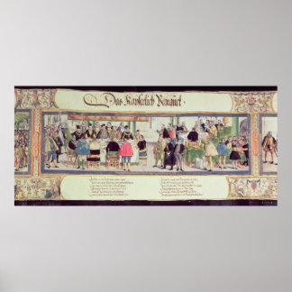 O banquete imperial: uma cena poster
