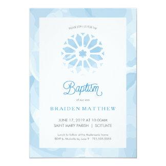 O baptismo, convite do batismo, meninos convida