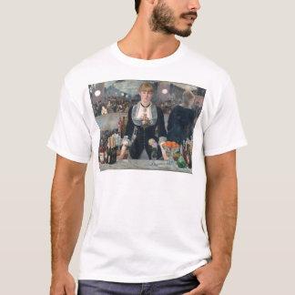 O bar de Edouard Manet um no Folies-Bergère Camiseta