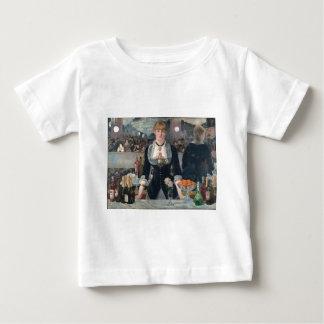 O bar de Edouard Manet um no Folies-Bergère Camiseta Para Bebê