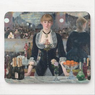 O bar de Edouard Manet um no Folies-Bergère Mousepad