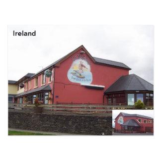 O bar de sete porcos, Castlegregoey, Kerry, Cartão Postal