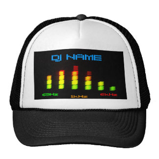 O bar pessoal EQ do equalizador do DJ - adicione s Boné