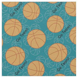 O basquetebol vai tecido da equipe
