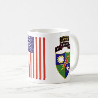 ø batalhão - 75th caneca da guarda florestal w/Tab