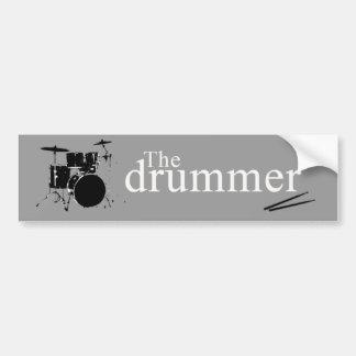 O baterista adesivo para carro