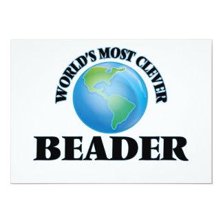O Beader o mais inteligente do mundo Convite Personalizado