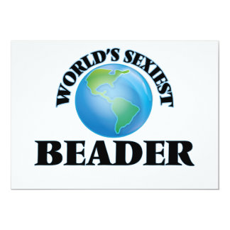 """O Beader o mais """"sexy"""" do mundo Convites"""