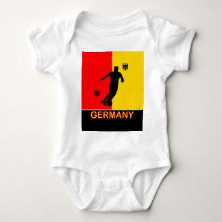 O bebê 2010 do futebol da alemanha de Alemanha Body Para Bebê