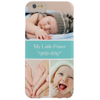 O bebê chique elegante caçoa a colagem da foto capa barely there para iPhone 6 plus