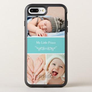 O bebê chique elegante caçoa a colagem da foto capa para iPhone 7 plus OtterBox symmetry