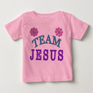 O bebê cristão de Jesus da equipe veste-se em Camiseta