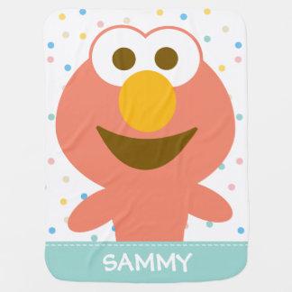 O bebê de Elmo | adiciona seu nome Cobertor Para Bebe