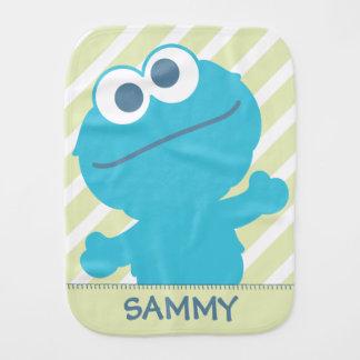 O bebê do monstro do biscoito | adiciona seu nome paninhos para bebês