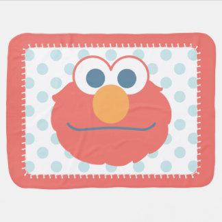 O bebê Elmo enfrenta Cobertor De Bebe