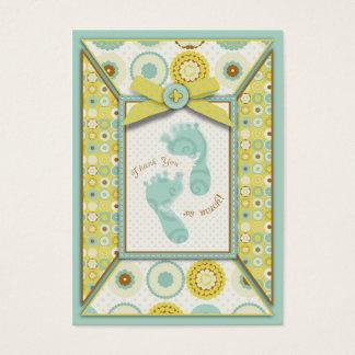 O bebê querido Toes o Tag do presente de TY Cartão De Visitas