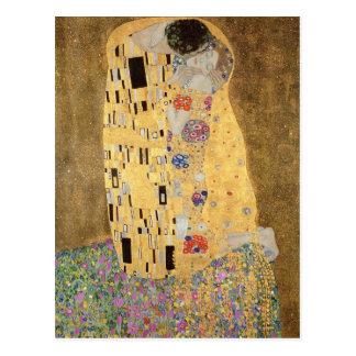O beijo 1907-08 cartão postal
