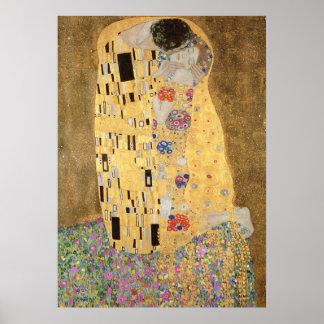 O beijo, 1907-08 pôster