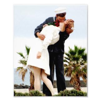O beijo arte de fotos