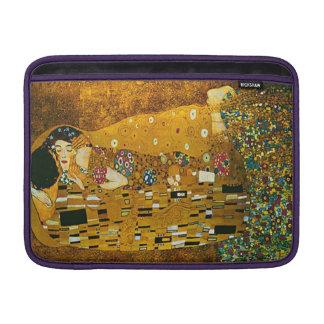 """""""O beijo"""" Gustavo Klimt 13"""" luva de ar de MacBook Bolsas Para MacBook Air"""