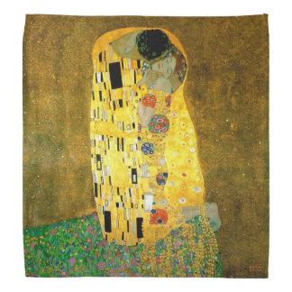 O beijo pelo lenço de Gustavo Klimt Faixas Para Cabeça