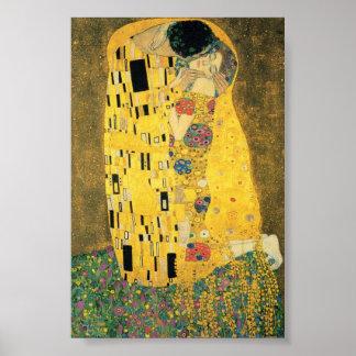 O beijo (qualidade perfeita) impressão