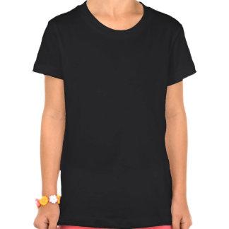 O Bella das meninas do Pug do Natal+T-shirt do Tshirts