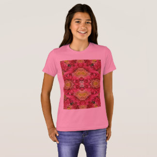 O Bella das meninas+T-shirt do grupo das canvas Camiseta