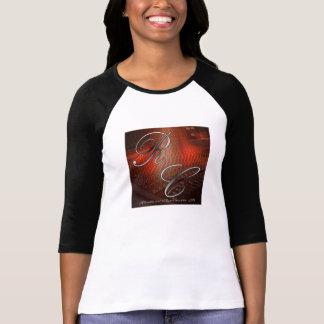 O Bella das mulheres 3/4 de t-shirt do Raglan da