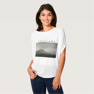 O Bella das mulheres+Parte superior de Colorado do Camiseta