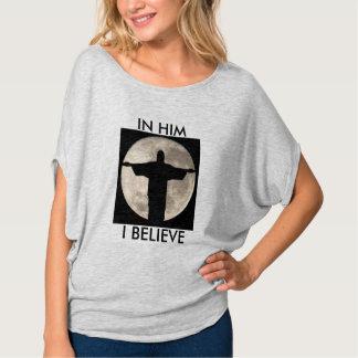 O Bella das mulheres+Parte superior do círculo de Camiseta