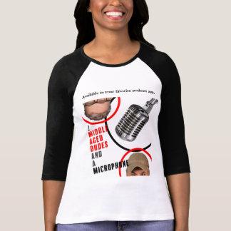 O Bella das mulheres+T-shirt do Raglan da luva das Camiseta