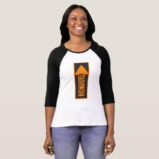 O Bella das mulheres+T-shirt do rodeio da luva das Camiseta